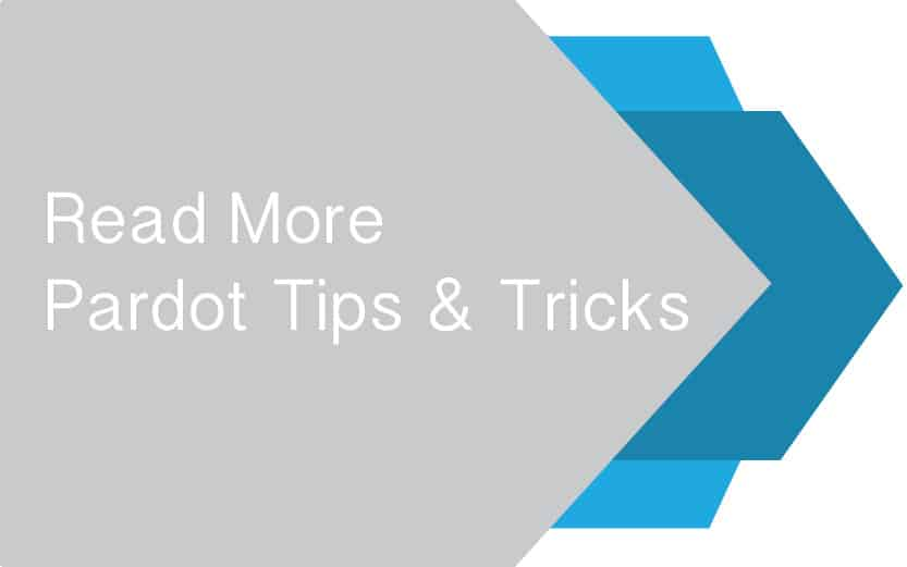 Pardot Tips Button
