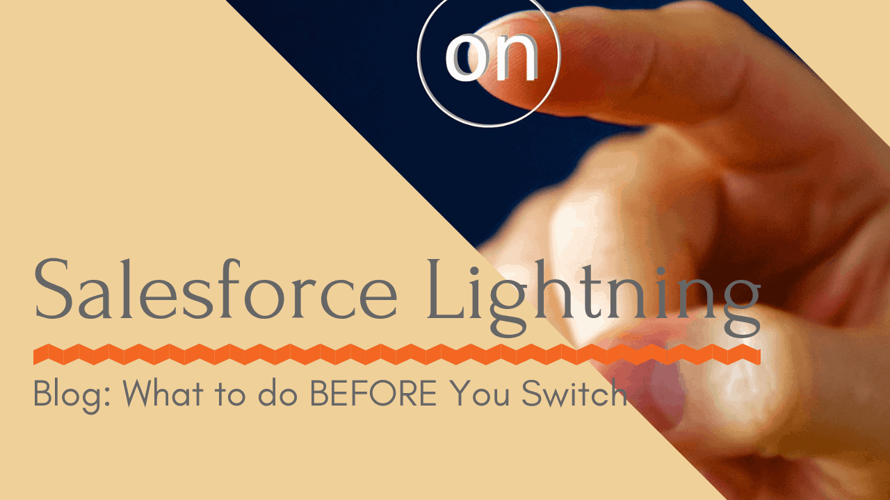 On Button Salesforce Lightning