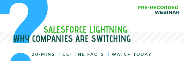 Salesforce Lighting Webinar_