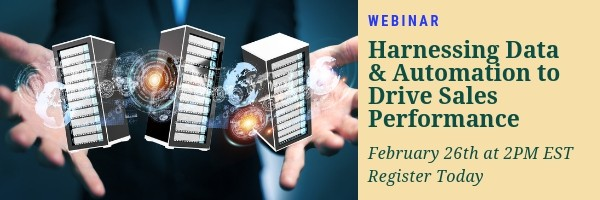 Harnessing Data Webinar Manufacturers Saleforce