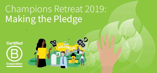 Champions Retreat 2019: Making the Pledge