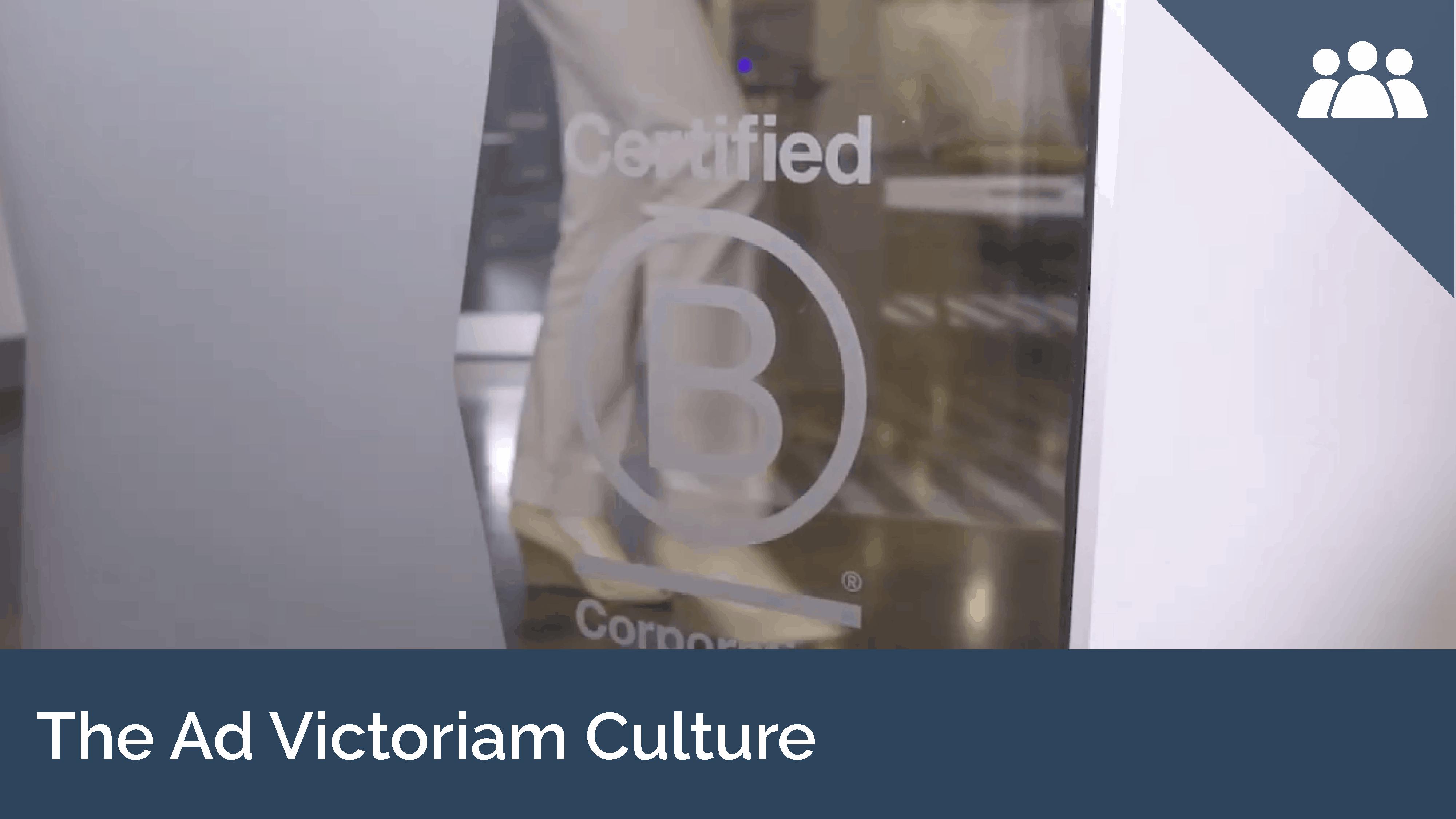 The Ad Victoriam Culture