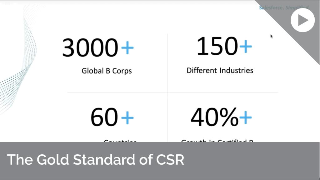 The Gold Standard Of CSR