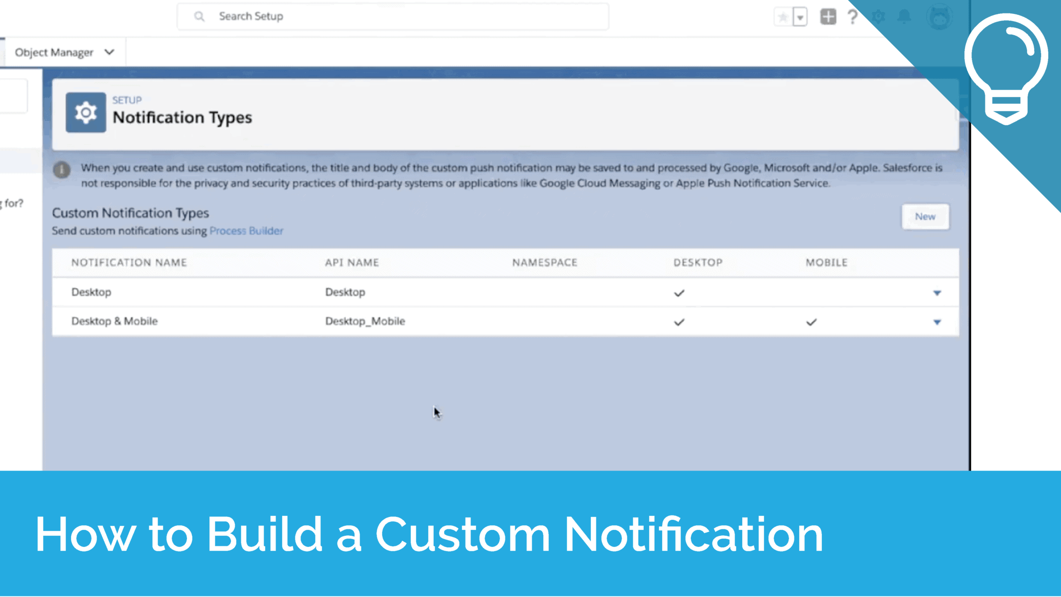 How to Build a Custom Notification