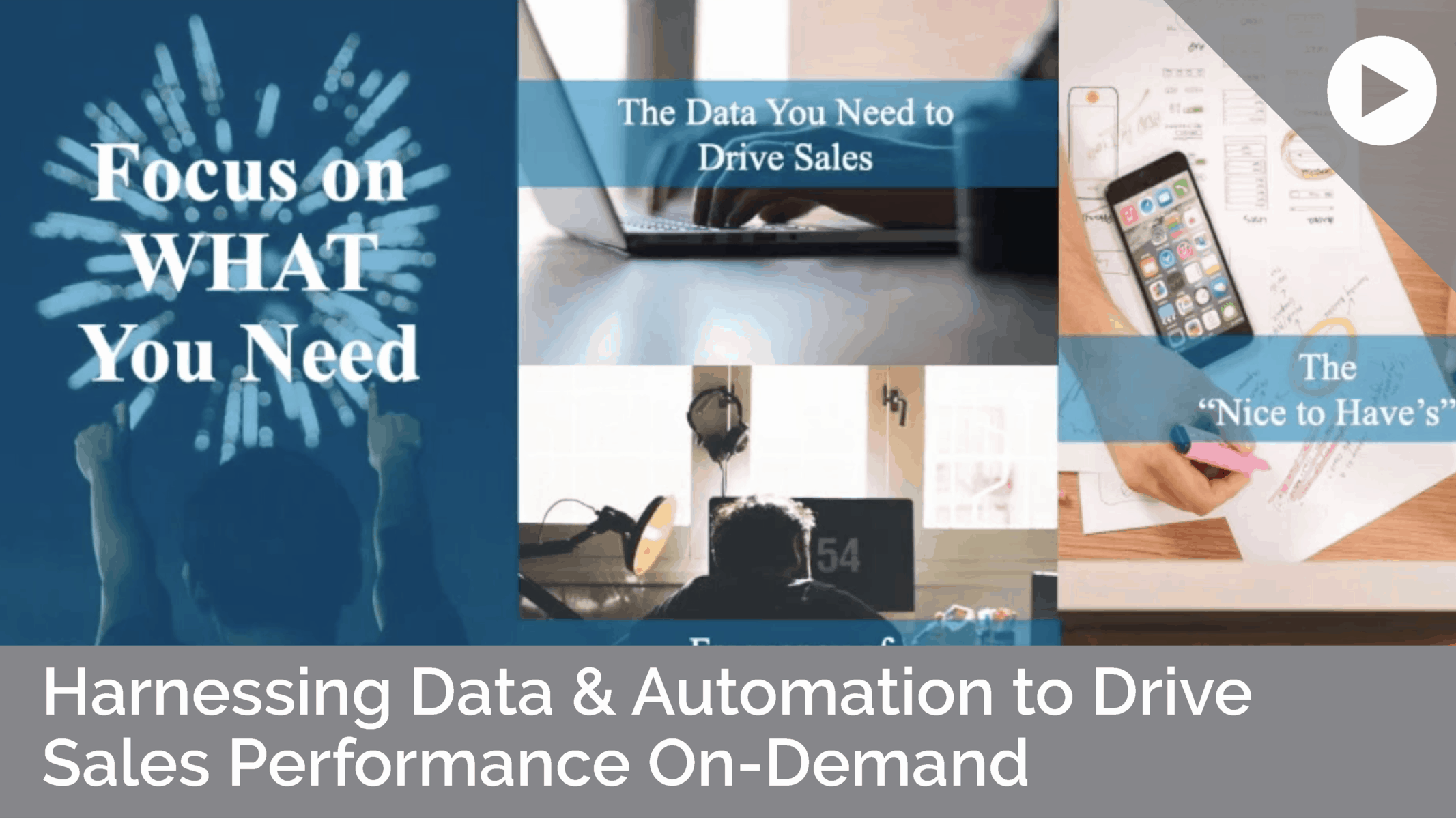 Harnessing Data and Automation to Drive Sales Performance On-Demand