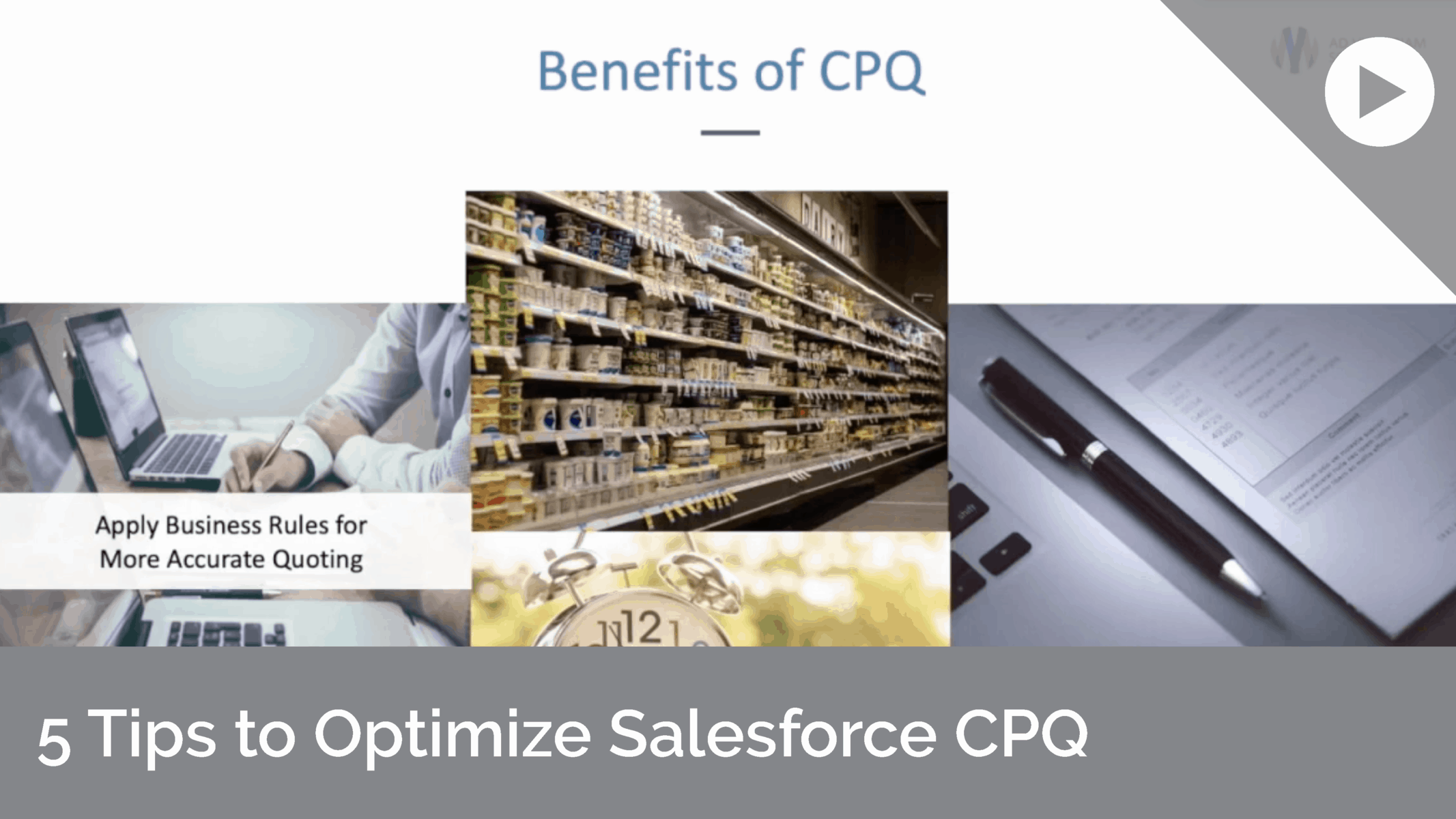5 Tips to Optimize Salesforce CPQ