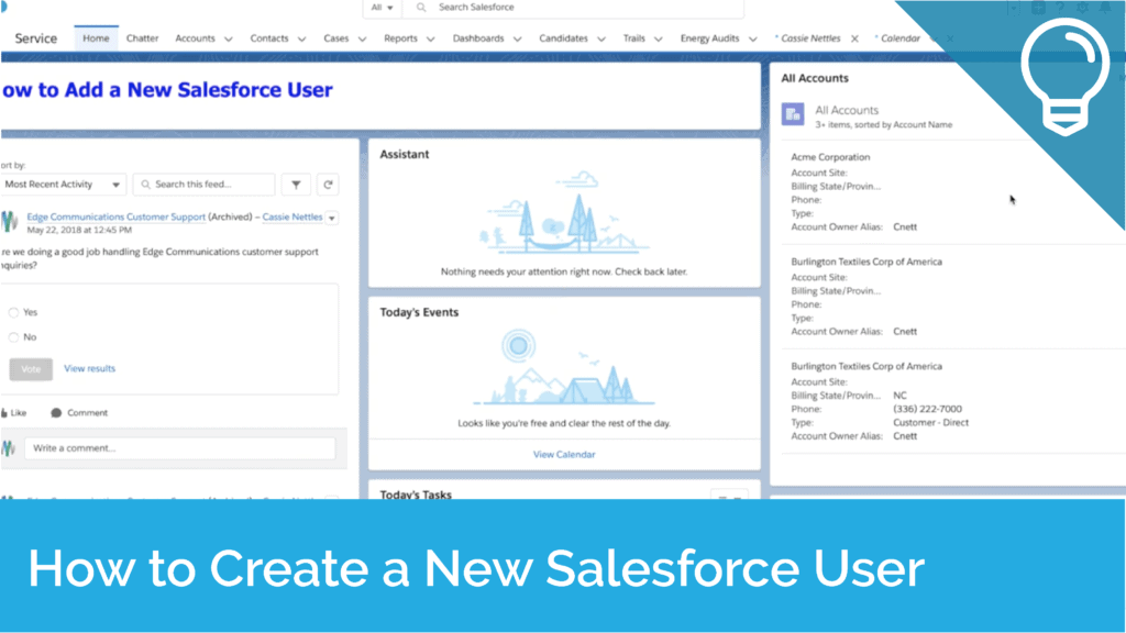 How to Create a New Salesforce User