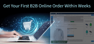 Get Your First B2B Online Order Within Weeks