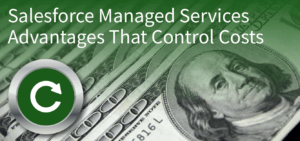 Salesforce Managed Services Advantages That Control Costs