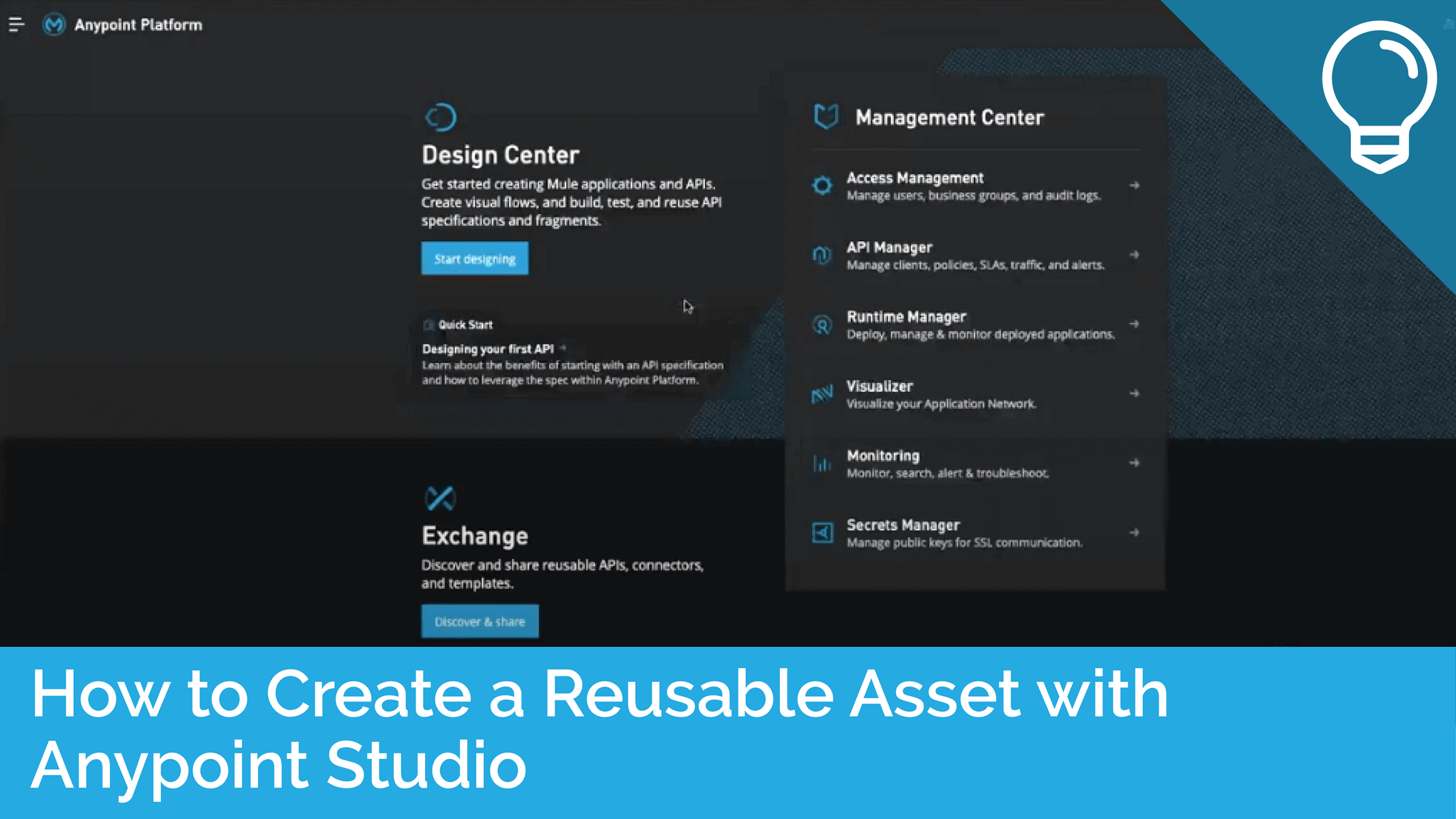 How to Create a Reusable Asset with Anypoint Studio