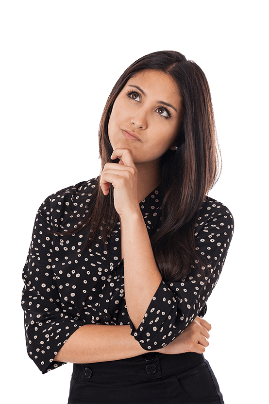 Woman Contemplating a Problem