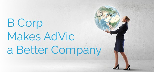 B Corp Makes AdVic a Better Company