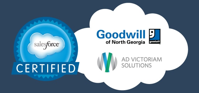AdVic and Goodwill of North Georgia Team for Salesforce Training