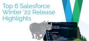 Top 6 Salesforce Winter '22 Release Highlights